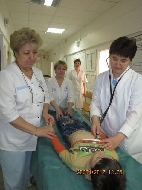 Осмотр больного зав отделением